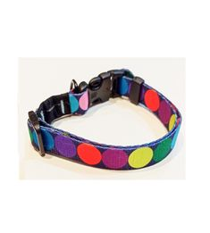 COLLAR A TOPOS DE COLORS